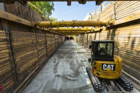 Bau Abwasserkanal bei Dinslaken