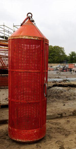 Aufbewahrungsort für renitente Bauarbeiter