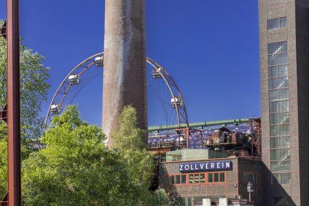 Kokerei Zollverein mit Riesenrad
