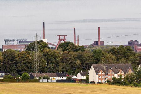 Blick auf Zollverein vom Mechtenberg in Kray