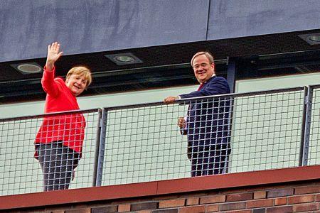 Besuch von Bundeskanzlerin Merkel