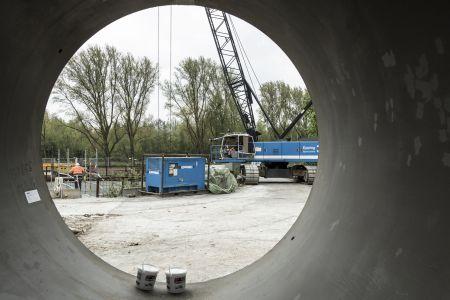 Baustelle Berne-Durchstoss Bottrop