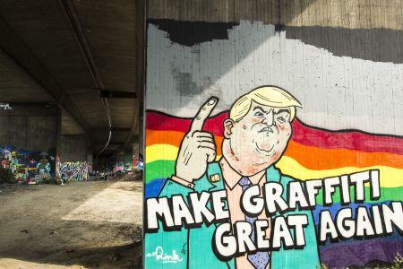 Graffiti Hafendampf Essen 2016
