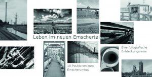 EInladungskarte zur Ausstellung Leben um neuen Emschertal 2015