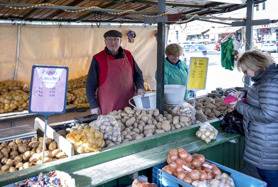 Kartoffelhändler